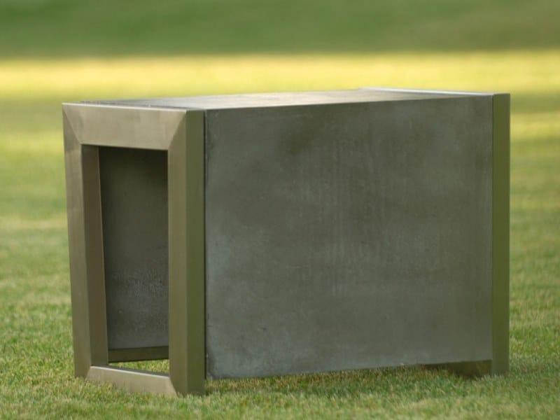 Boris sgabello da giardino collezione boris by sit
