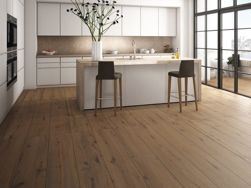 Porcelain stoneware wall/floor tiles with wood effect BOSCO | Porcelain stoneware wall/floor tiles by Inalco