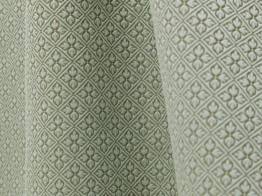 Damask jacquard fabric BOSQUET by LELIEVRE