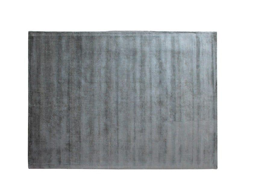 Solid-color rectangular cotton rug BOSS by Adriani e Rossi edizioni