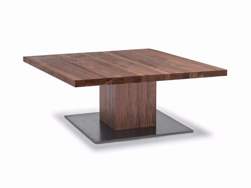 Solid wood coffee table BOSS BASIC SMALL by Riva 1920