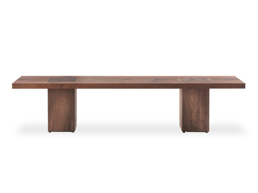 Solid wood bench BOSS EXECUTIVE BENCH by Riva 1920