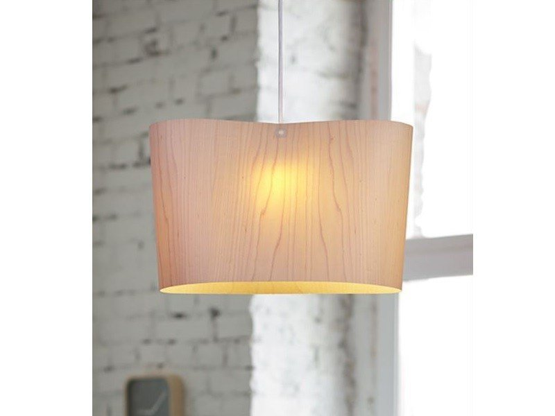 Wooden pendant lamp BOSSA by luxcambra