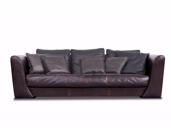 Leather sofa BOSTON by BAXTER