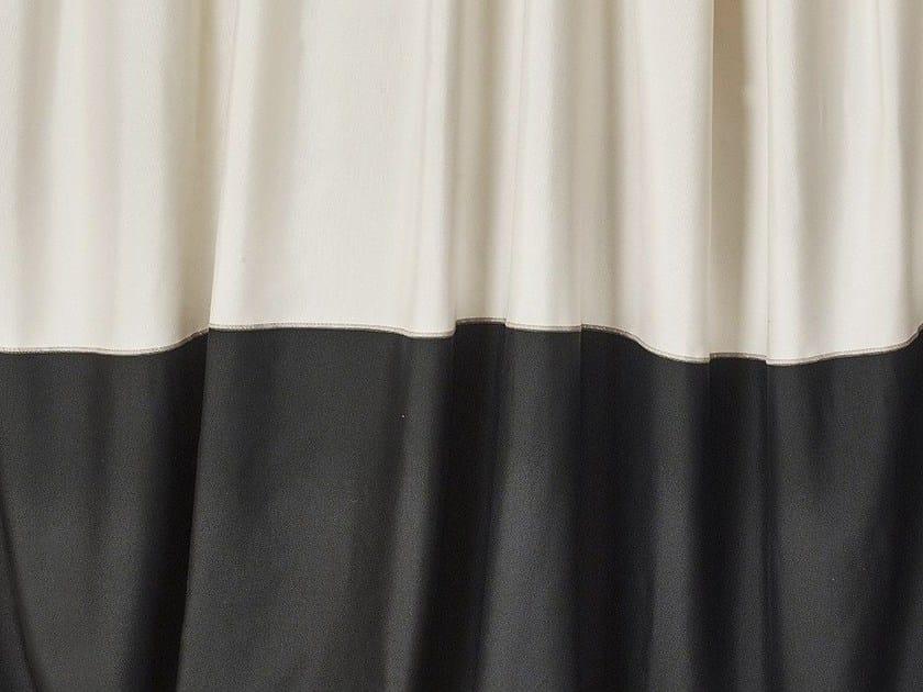 Striped fire retardant fabric BOSTON FRILL by Dedar