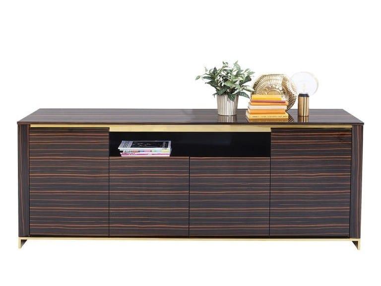 Wood veneer sideboard BOSTON | Sideboard by KARE-DESIGN