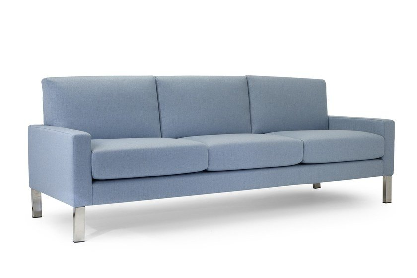 Contemporary Style 3 Seater Upholstered Fabric Leisure Sofa Boston By Domingo