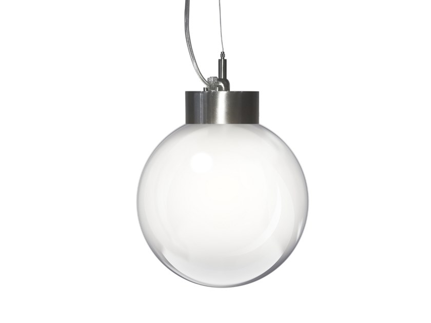 LED glass pendant lamp BOSTON by luxcambra