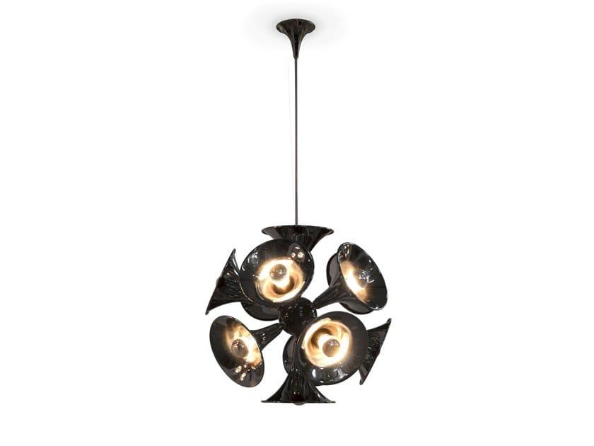 Brass pendant lamp BOTTI   Pendant lamp by Delightfull