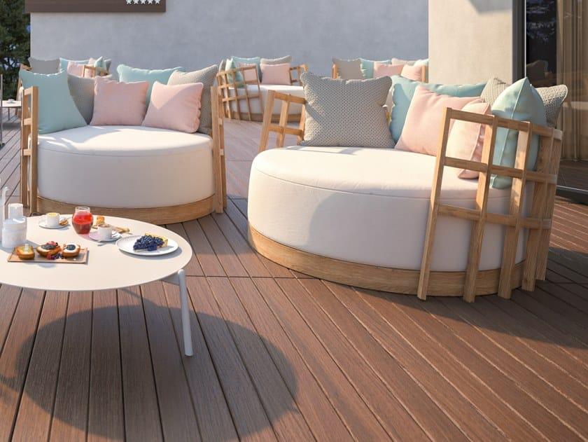 Relaxing Sunbrella® garden armchair BOTTLE 70 by MOBIKA GARDEN