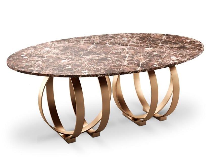 Marble table BOULDER | Table by Porustudio