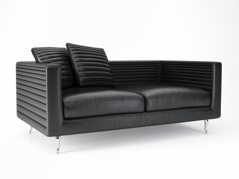 Leather sofa BOUTIQUE HORIZONS by moooi