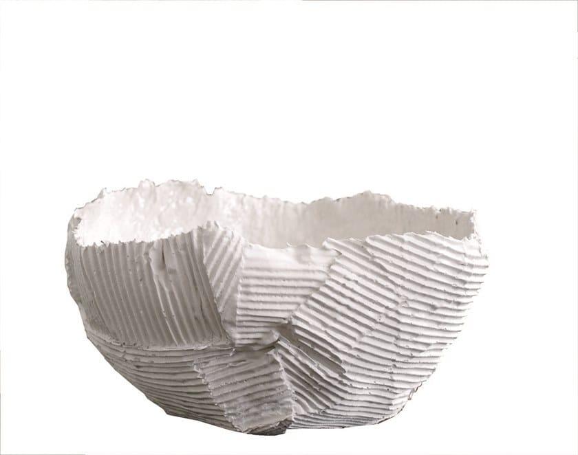 Ceramic serving bowl BOWL by Paola Paronetto