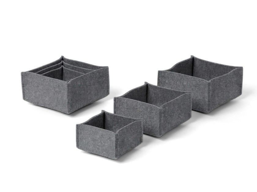 Felt storage box BOX 1 by HEY-SIGN