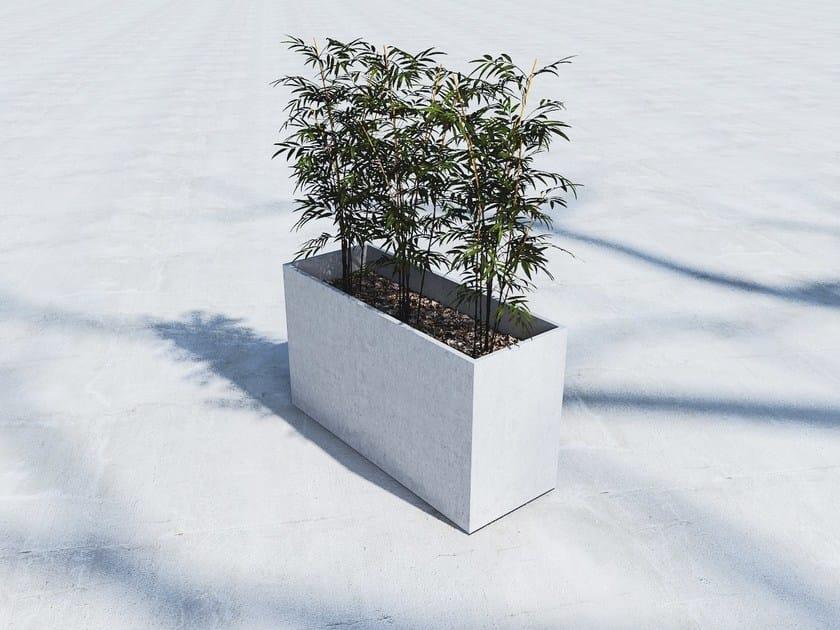 Fiber-reinforced concrete Flower pot BOX (80) by SIT