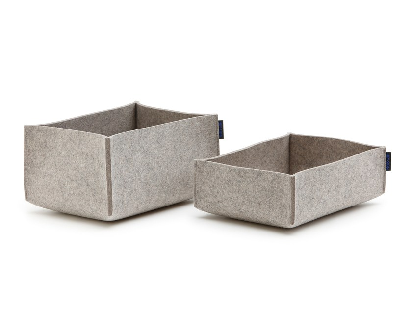 Felt storage box BOX by HEY-SIGN