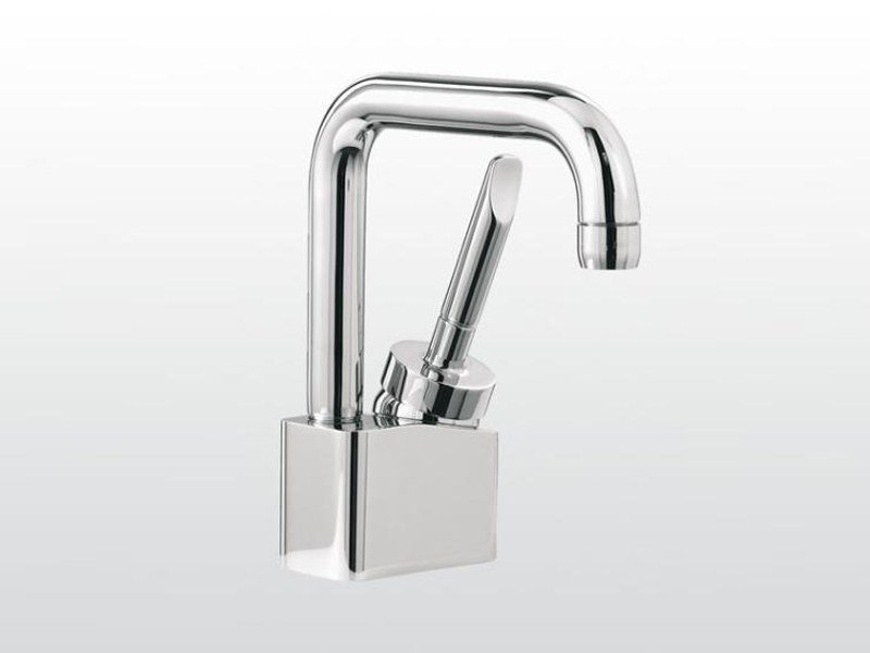 Single handle washbasin mixer with adjustable spout BOX | 3223 by RUBINETTERIE STELLA