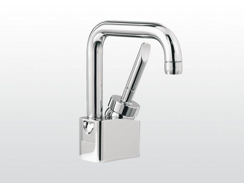 Single handle washbasin mixer with adjustable spout BOX | 3225 by RUBINETTERIE STELLA