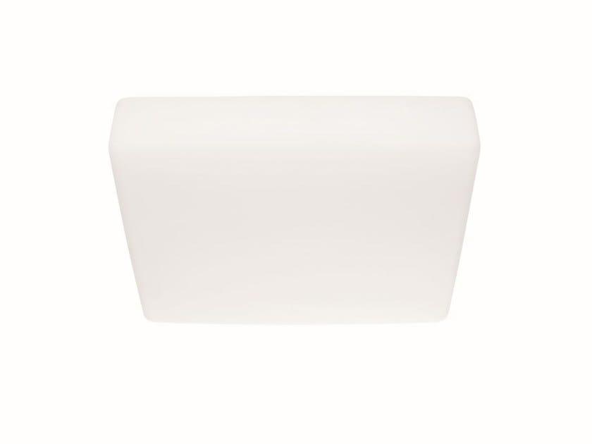 Light Full Box Plafoniera Polietilene A Led In q Linea Group 6gy7Ybf