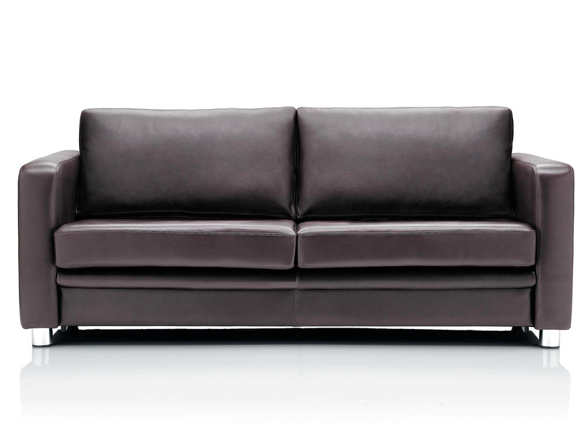 3 seater leather sofa BOXER | 3 seater sofa by Boss Design