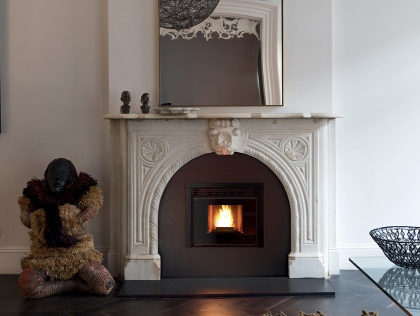 Pellet Fireplace Insert Boxtherm 70 Maestro Pellet Collection