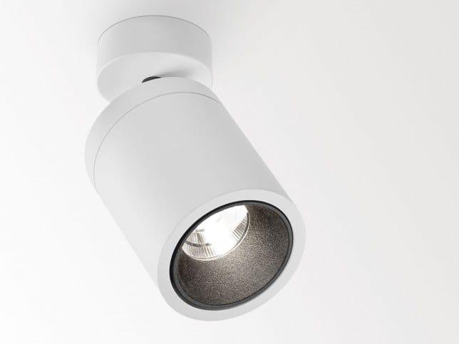 LED adjustable ceiling spotlight BOXY RB by Delta Light