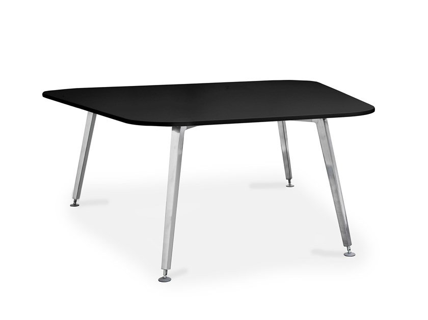 Anodized aluminium table CQ TABLE by rosconi