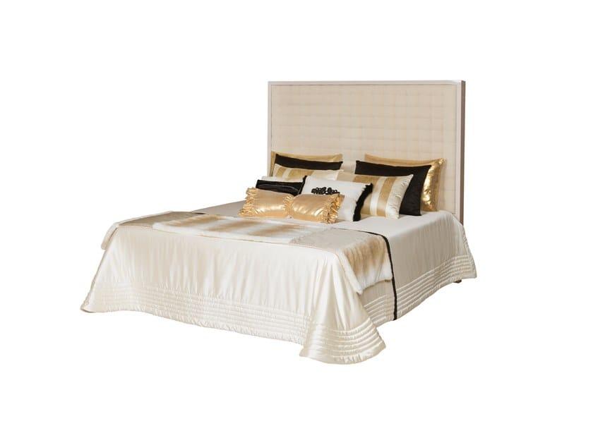 Upholstered velvet bed double bed BRAGA by Green Apple