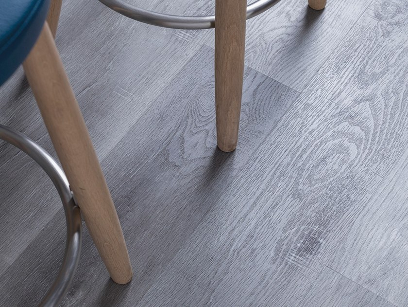 Woven vinyl flooring with wood effect BRANCH by L'ANTIC COLONIAL