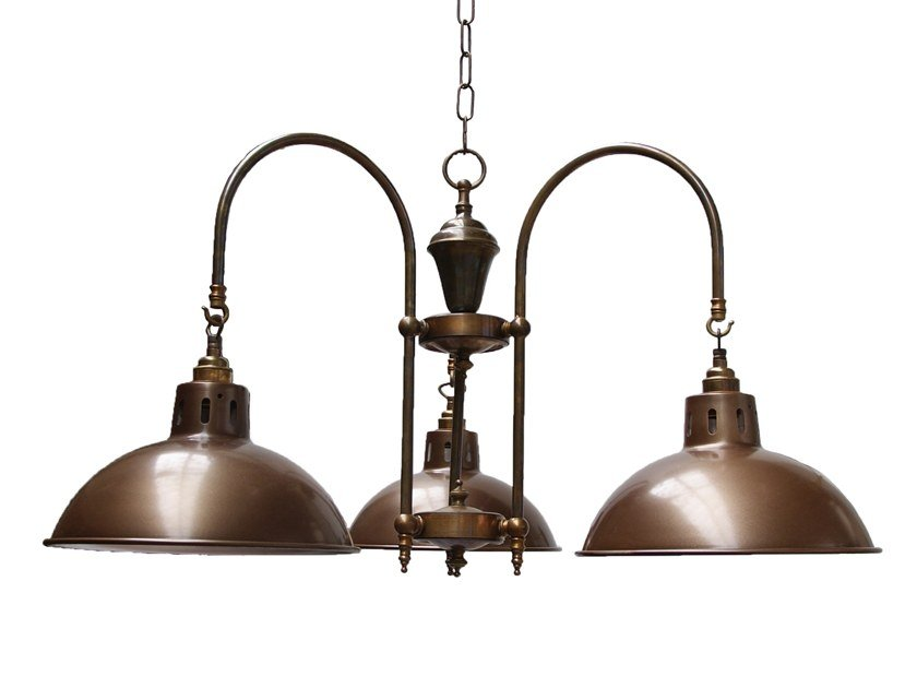Brass chandelier BRASILIA by Mullan Lighting