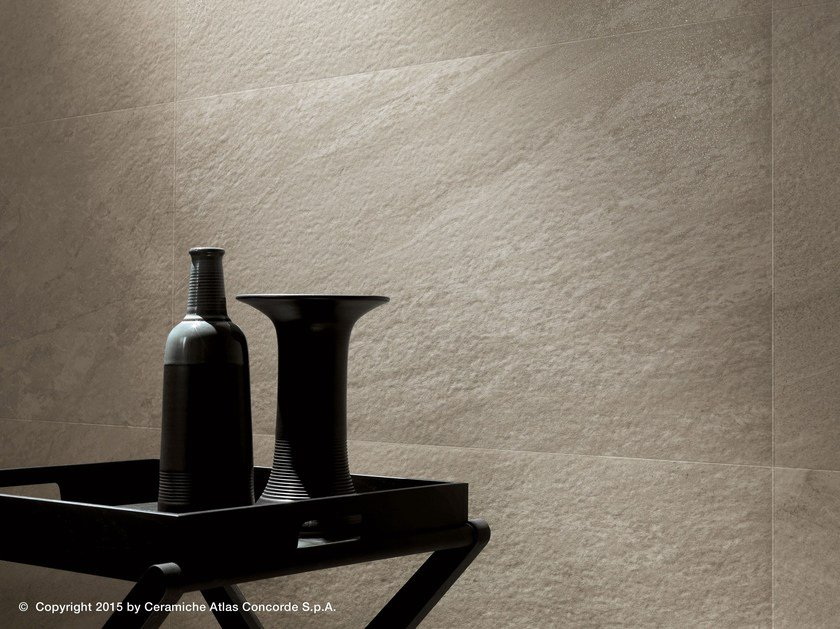 White-paste wall tiles with stone effect BRAVE WALL | White-paste wall tiles by Atlas Concorde