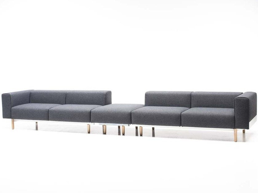5 seater sectional fabric sofa BREAD | 5 seater sofa by Diemme