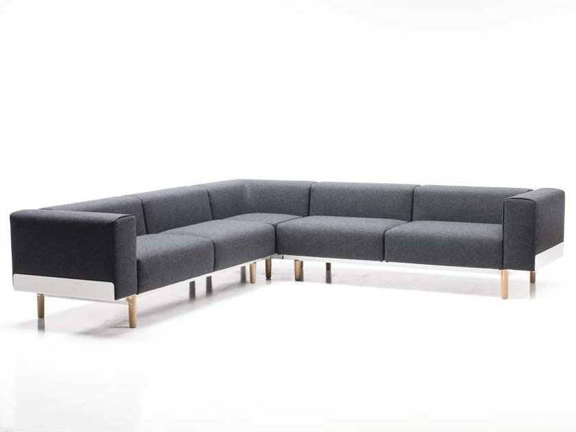 5 seater corner sofa BREAD | Corner sofa by Diemme