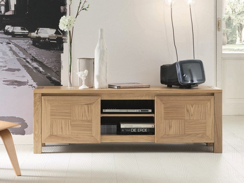 Oak TV cabinet BREAK | TV cabinet by AltaCorte
