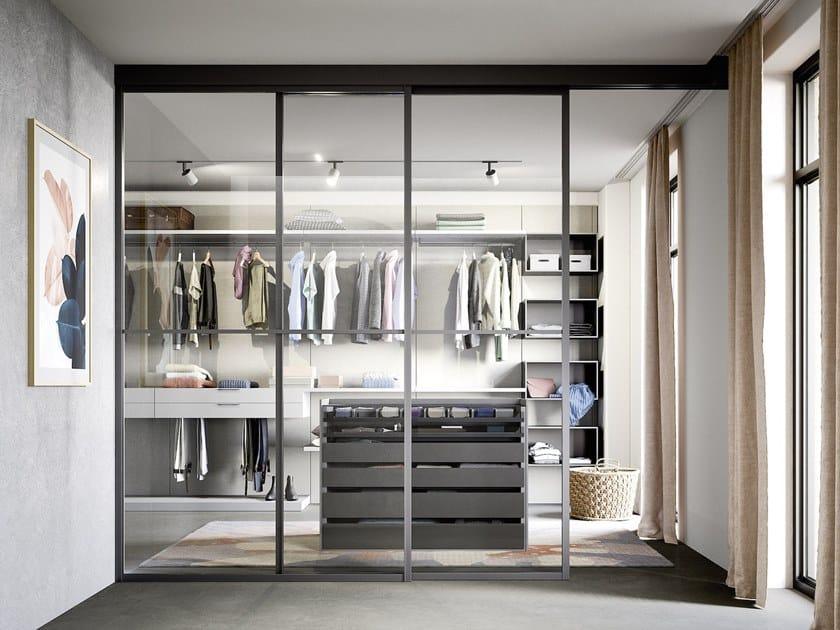 Cabina armadio angolare componibile BREAK by Novamobili