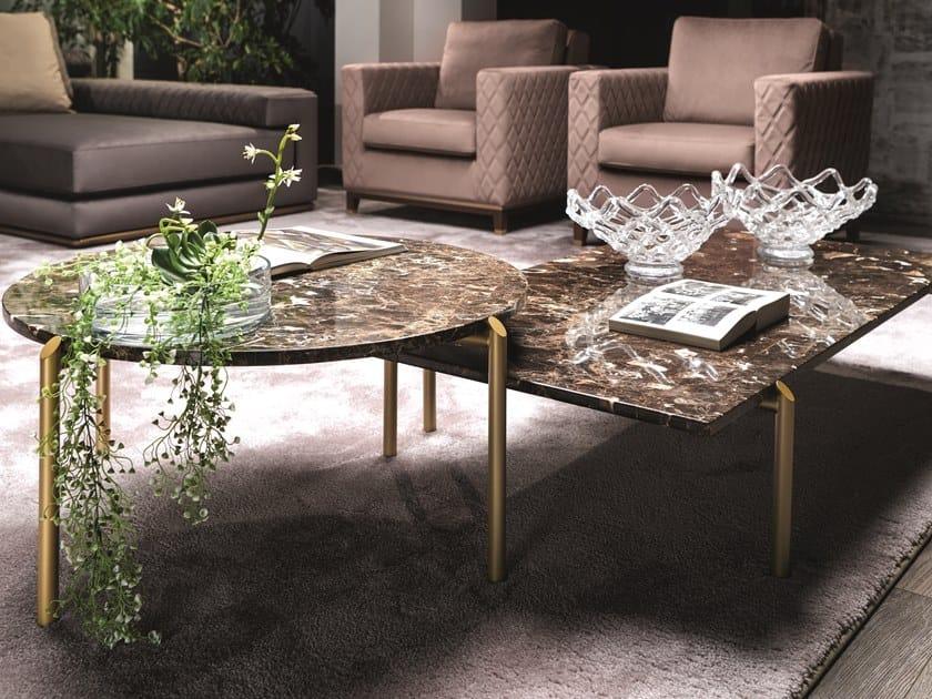 Tavolino basso in marmo BRERA | Tavolino by Former In Italia