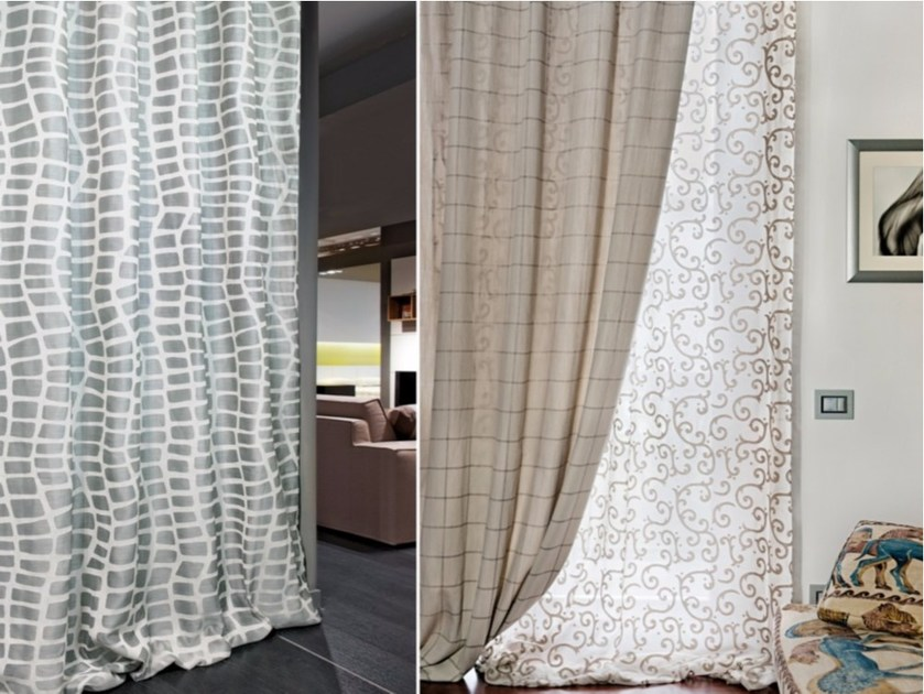 Devore fabric for curtains BRERA by FRIGERIO