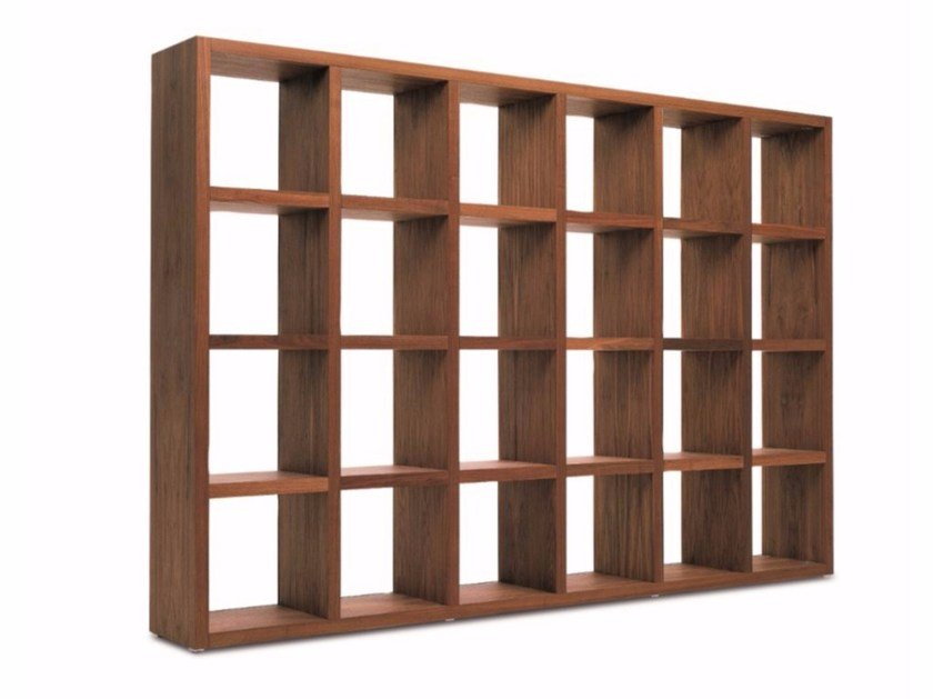 Open double-sided bookcase BRERA by Riva 1920