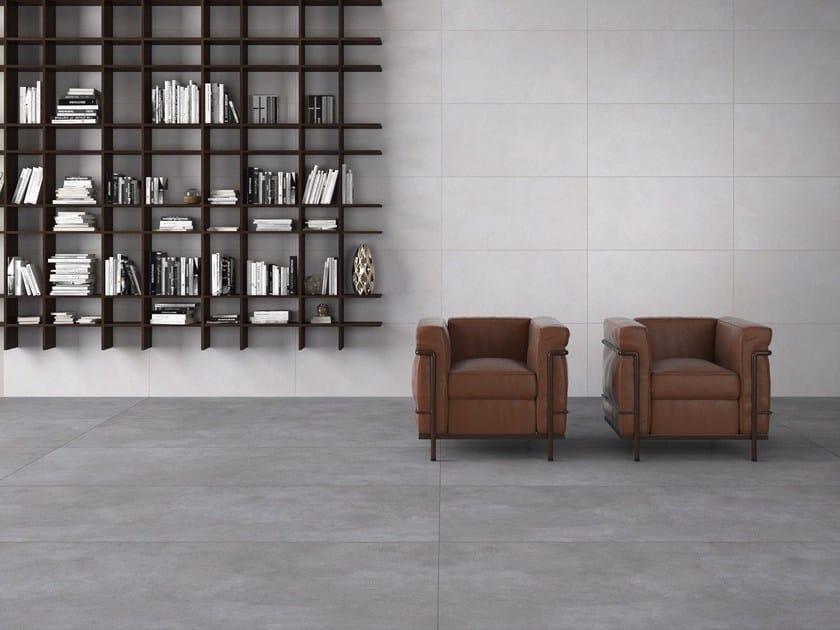 Porcelain stoneware wall/floor tiles with concrete effect BRERA by Saime Ceramiche