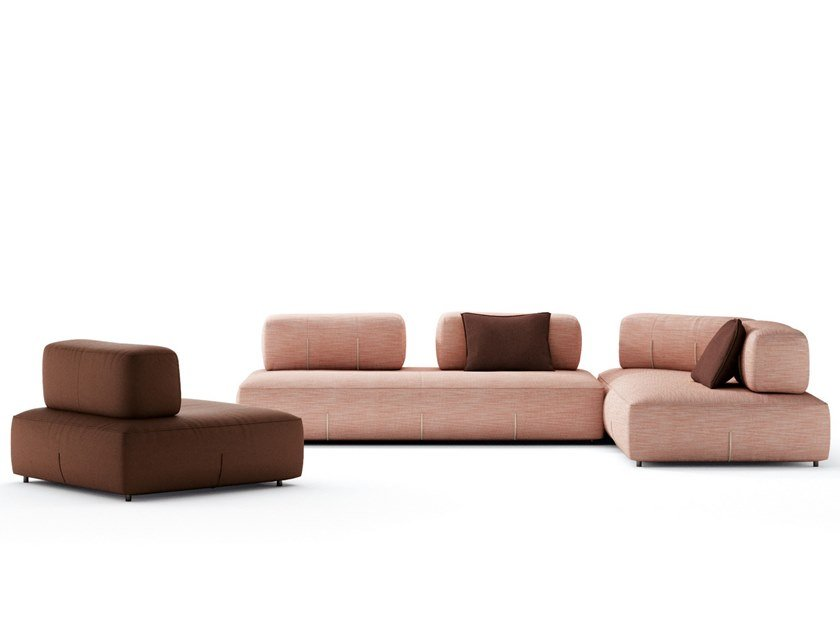 Sectional modular sofa BRESSO by NICOLINE