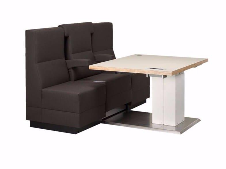 Sectional modular sofa BRICKS FLEX by Palau