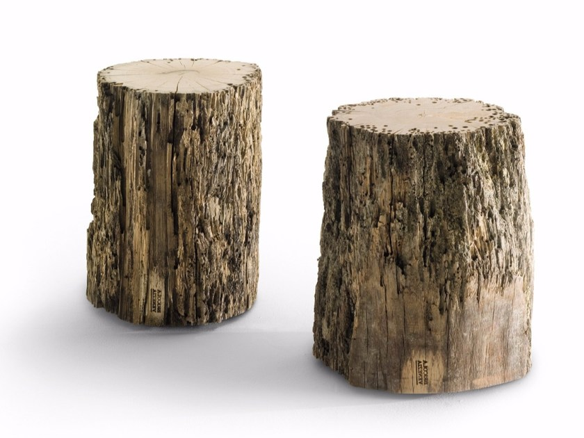 Briccola wood stool BRICOLA VENEZIA by Riva 1920
