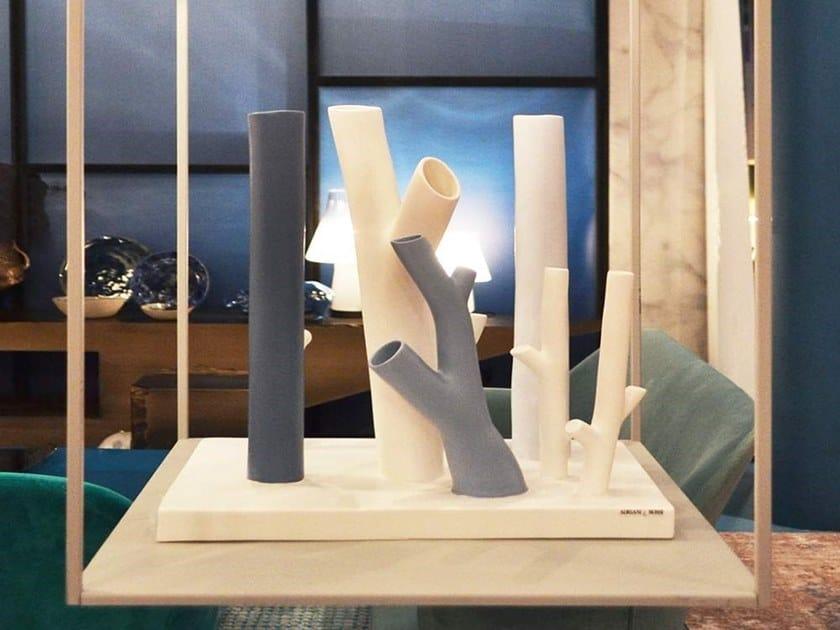 Ceramic sculpture BRICOLE by Adriani e Rossi edizioni