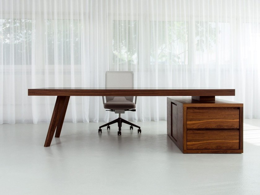 Executive desk with drawers BRIDGE | Executive desk by Morgen