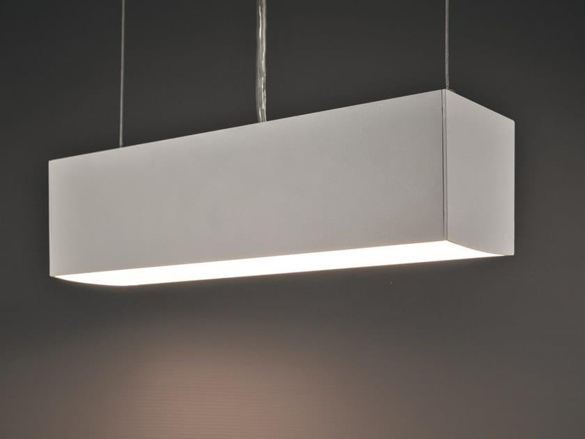 Adjustable aluminium pendant lamp BRIGHT by Ledevò