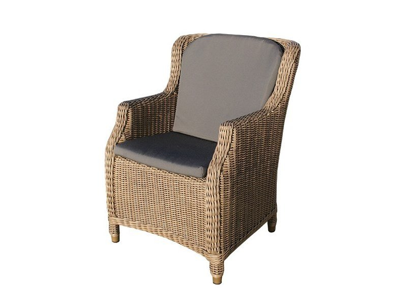 Garden easy chair with armrests BRIGHTON | Easy chair with armrests by Bridgman
