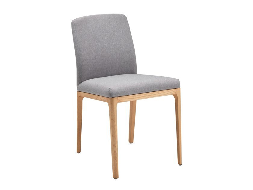 Contemporary style upholstered fabric chair BRIGITTE LOW by RIFLESSI