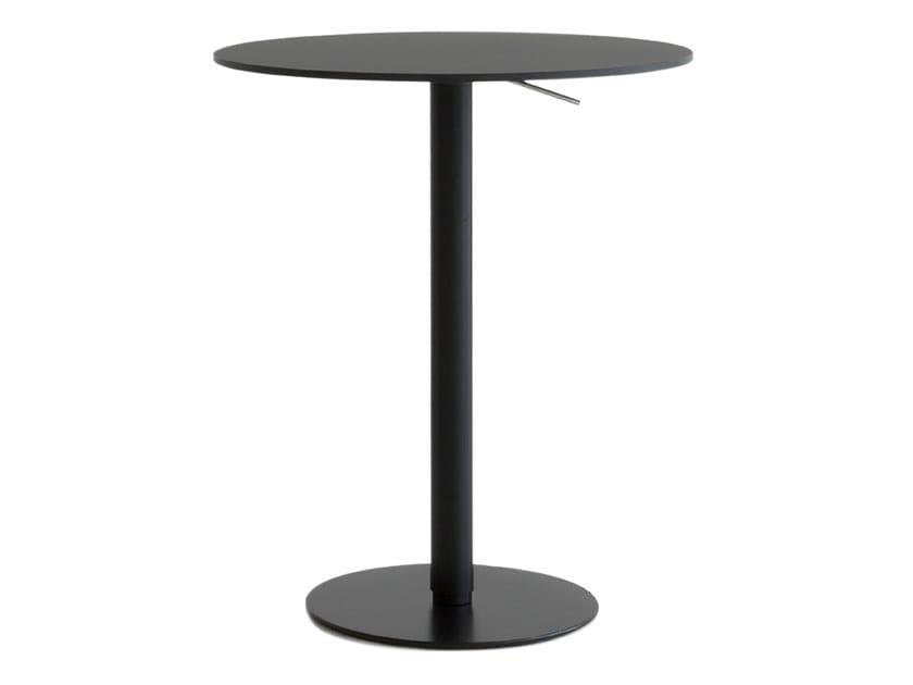 Tavolo ad altezza regolabile rotondo BRIO | Tavolo ad altezza regolabile by Lapalma