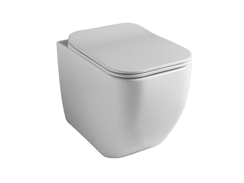Vaso a terra BRIO WC A TERRA   Bianco lucido by GSG Ceramic Design Srl