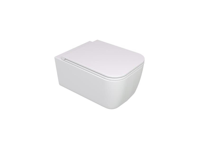 Vaso sospeso BRIO WC SOSPESO | Bianco lucido by GSG Ceramic Design Srl